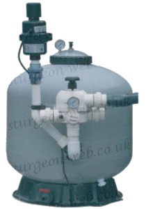 Pond filtration basics sturgeon web for Pond veggie filter